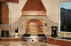 This photo about: Stone Kitchen Backsplash for Natural Kitchen, entitled as Stone Kitchen Backsplash Pictures - also describes and labeled as: Stone Kitchen Backsplash,stone kitchen backsplash designs,stone kitchen backsplash tiles, with resolution x Ceramic Tile Backsplash, Stone Backsplash, Kitchen Backsplash, Backsplash Ideas, Backsplash Design, Tile Ideas, Rustic Backsplash, Stone Tiles, Home Design
