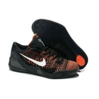 more photos 2897e 6d501 639045 418 Nike Kobe 9 Elite Low Black Varisty Red White Basketball Shoes  Kobe Bryant Shoes