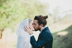 Zach would love me if I let him wear a ponytail in our wedding pictures