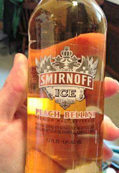 Smirnoff Ice Peach Bellini - I have got to find this!!