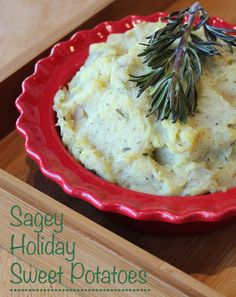 Everyone knows that sweet potatoes are much healthier than classic white potatoes. They're a favorite for anyone who is looking to cut back carbs. What you might not know, is that with a little bit of Christmas flavor - they can taste even better than classic white potatoes! These Sagey Holiday Sweet Potatoes are a MUST TRY!