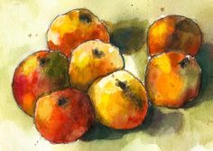 """Cézanne - Apples  """"With an apple I will astonish Paris."""""""