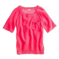 sandbar sweater. madewell - sleeve length is excellent & I might consider something pink this spring.