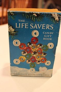 vintage life savers sweet story candy gift book full sealed rolls beech nut xmas