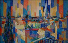 © Fontenay-le-Comte par Jean Chevolleau, 1987 - Salle d'honneur de la Mairie de Fontenay-le-Comte ✏✏✏✏✏✏✏✏✏✏✏✏✏✏✏✏ IDEE CADEAU ☞ gabyfeeriefr.tumblr.com ..................................................... CUTE GIFT IDEA ☞ frenchvintagejewelryen.tumblr.com ✏✏✏✏✏✏✏✏✏✏✏✏✏✏✏✏