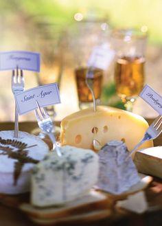 identificação queijos