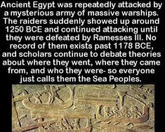 Ancient Egyptian mystery...