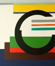 Guy Vandenbranden (B, 1926), geometrisch abstracte werken