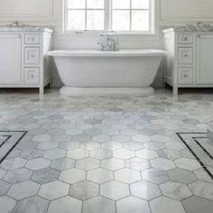 13 Best Bathroom Remodel Ideas Makeovers Design Hexagon Tile Floorbest