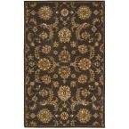 India House Charcoal (Grey) 5 ft. x 8 ft. Area Rug