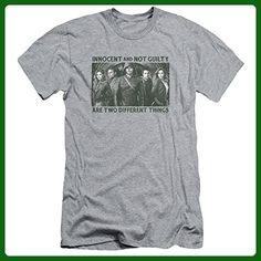 Arrow CW Superhero TV Series Not Guilty Adult Slim T-Shirt Tee - Superheroes shirts (*Amazon Partner-Link)