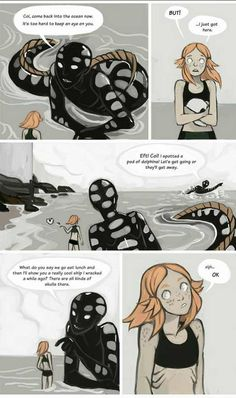 All Three Chapters of The Most Interesting Comic Thermohalia are Here Comics Story, Bd Comics, Cute Comics, Web Comic, Comic Art, Fantasy Creatures, Mythical Creatures, Character Inspiration, Character Art