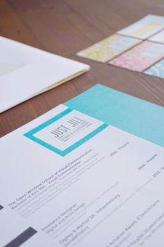 Personal Corporate Identity: Just Jill by Bianca de Jager, via Behance
