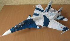 Истребитель SU-30MK - Как сделать модели из бумаги и картона своими руками - Форум Magic Store, Paper Magic, Paper Models, Paper Crafts, Paper Planes, Slot Cars, Airplanes, Origami, Aircraft
