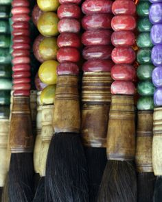 Antique brushes