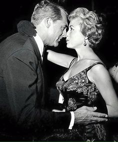 Cary Grant with Janet Leigh