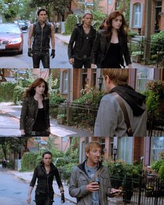 """""""Wow Clary... You look different."""" - Eric 'meets' shadowhunters, City of Bones"""