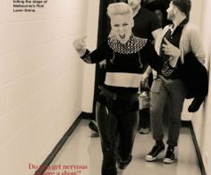 Pink - she just *owns* all of who she is, unapologetically and in the best bad-ass way