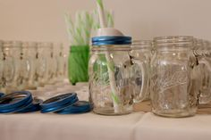 Ball® Regular Mouth Ball Sip and Straw Lids - perfect for entertaining!