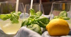 Gin Basil Smash - Gin, selbstgemachtes Basilikumsirup, Zitrone und Eis   Je besser die Qualität des Gins ist, umso besser wird der Cock...