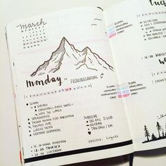 Easy Bullet Journal Ideas To Well Organize & Accelerate Your Ambitious Goals Bullet Journal Banners, Bullet Journal Spread, Bullet Journal Ideas Pages, Bullet Journal Layout, My Journal, Bullet Journal Inspiration, Journal Diary, Bullet Journals, College Problems