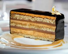 This classic French opera cake, which is served at Chef Thomas Keller's Bouchon Bistro, is naturally gluten-free.