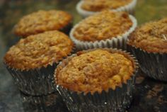 Oatmeal Banana Nut Muffins  Healthy Breakfast for Kiddos---:> I like this one better
