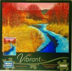 Approaching Winter, Martis Valley 1000 piece #jigsaw #puzzle Mega Puzzles Vibrant series
