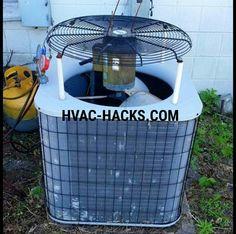 hvac condenser motor - http://www.hvac-hacks.com/hvac-condenser-motor-2/