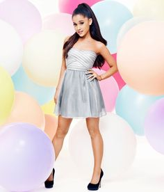 Ariana Grande By Lipsy London Photoshoot 2016 Ariana Grande Fotos, Ariana Grande Outfits, Ariana Grande Lipsy, Ariana Grande Photoshoot, Ariana Grande Pictures, Silver Cocktail Dress, Cocktail Dress Prom, Sheer Overlay Dress, Sheer Dress