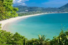 Kamala Beach, ostrov Phuket, Thajsko