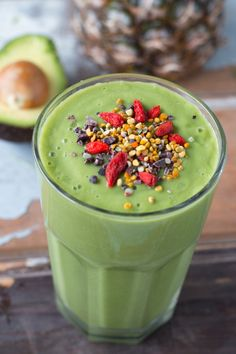 Juice Detox Smoothie with Superfoods