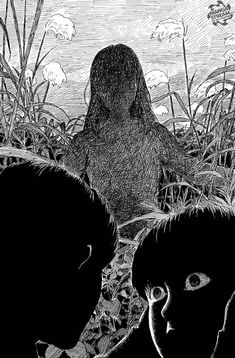Horror Comics, Horror Art, Blood On The Tracks, The Flowers Of Evil, Japanese Horror, Anime Backgrounds Wallpapers, Manga Collection, Cult, Anime Expressions