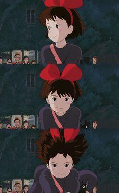 Studio Ghibli Art, Studio Ghibli Movies, Hayao Miyazaki, Laurence Anyways, Animation, Cartoon Wallpaper, Totoro, Aesthetic Anime, Cute Wallpapers