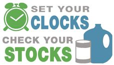 Prepare yourself in case of emergency. A checklist of things to do and what to stockpile: http://www.getreadyforflu.org/clocksstocks/PDF/stockpilingchecklist.pdf  Checklist from the APHA #NPHW