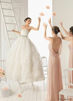 Aire barcelona wedding dresses 2013 bridal collection