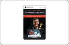 ArtistWorks Gift Card  Online Trumpet School with David Bilger Gift Card 105 ** Continue to the product at the image link.Note:It is affiliate link to Amazon.