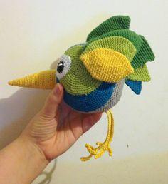 Petit zozio au crochet - oiseau - bird