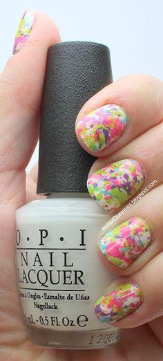 Colorful Summer Nails ^-^