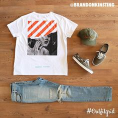 Exclusive graphic tees white tees, off white Swag Outfits Men, Cool Outfits, Casual Outfits, Men Casual, Vans Outfit Men, Hype Clothing, Mens Clothing Styles, Smart Outfit, Outfit Grid