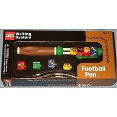 Lego Writing System Football Pen *** Continue to the product at the image link.Note:It is affiliate link to Amazon.