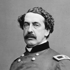 Major Gen. Abner Doubleday, First Corps Commander after Reynolds was killed on the first day of the Battle of Gettysburg.  Meade named Major Gen. John Newton to replace Doubleday.