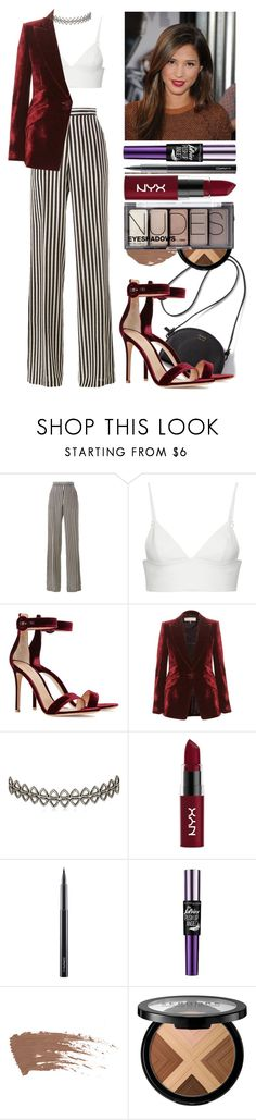 """If I were famous #37"" by valley411 ❤ liked on Polyvore featuring Etro, T By Alexander Wang, Gianvito Rossi, Emilio Pucci, Assya London, NYX, MAC Cosmetics, Maybelline, Sephora Collection and H&M"
