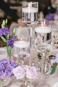 Wedding Crafts, Wedding Favors, Wedding Ideas, Purple Wedding, Wedding Flowers, Wedding Dresses, Centerpieces, Table Decorations, Bouquet