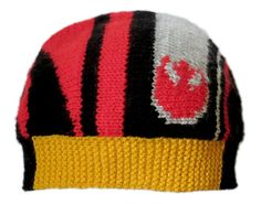 Hands up if you've spent the past month and a half knitting Star Wars hats! Just me then? Oh dear. Some ramblings and a free Poe Dameron hat pattern/chart under the read more. [[MORE]]It all started...