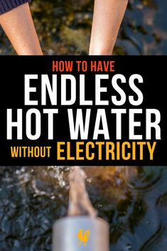 When an emergency strikes how can you ensure that you have an endless supply of hot water even when there is no electricity? Endless hot water without electrici Emergency Preparedness Kit, Emergency Preparation, Survival Prepping, Survival Skills, Off Grid Survival, Survival Gear, Urban Survival, Outdoor Survival, Off The Grid