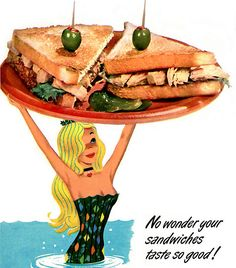 1955 ... mermaid service!