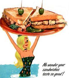 1955 ... mermaid service!