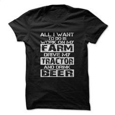 Work on my farm T Shirt, Hoodie, Sweatshirts - make your own t shirt #style #clothing