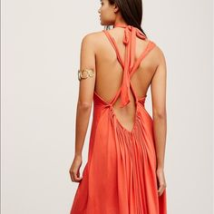 Free People Starlight back strap maxi Gorgeous rust color full length maxi #35647080 Free People Dresses Maxi